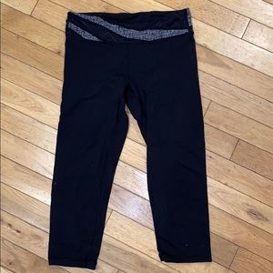 Ivivva Capri legging pants bottom yoga jacket